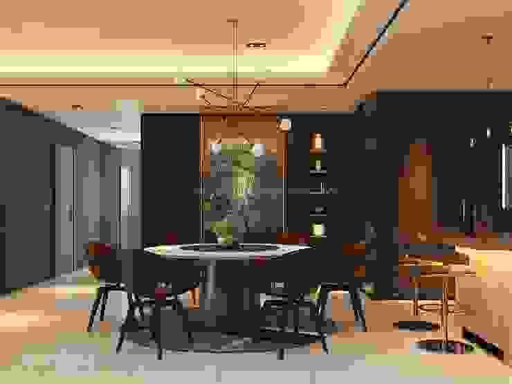 Residence 22, Mont Kiara Norm designhaus Modern dining room