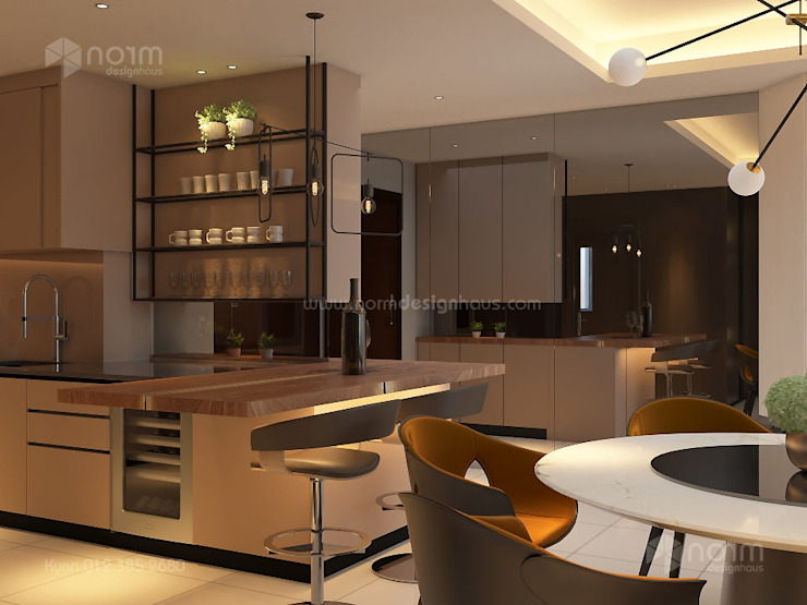 Norm designhaus Dapur built in