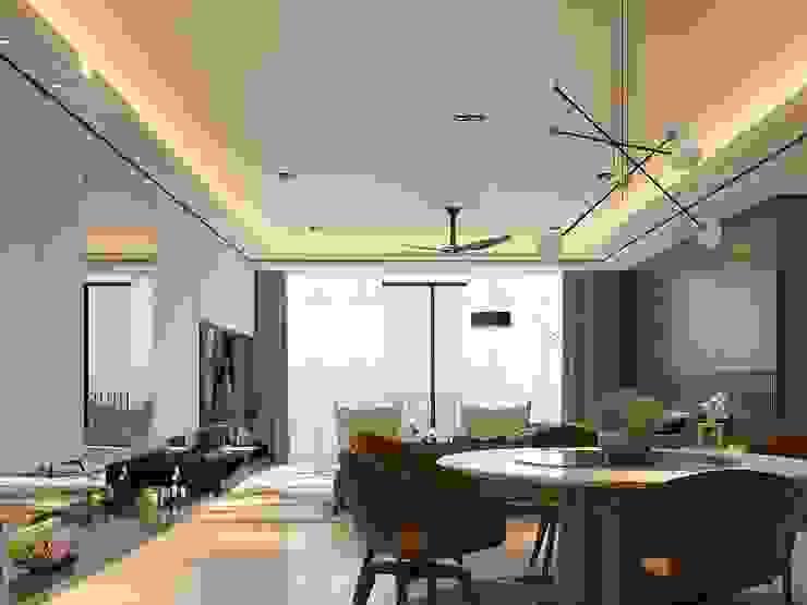 Norm designhaus Comedores de estilo moderno