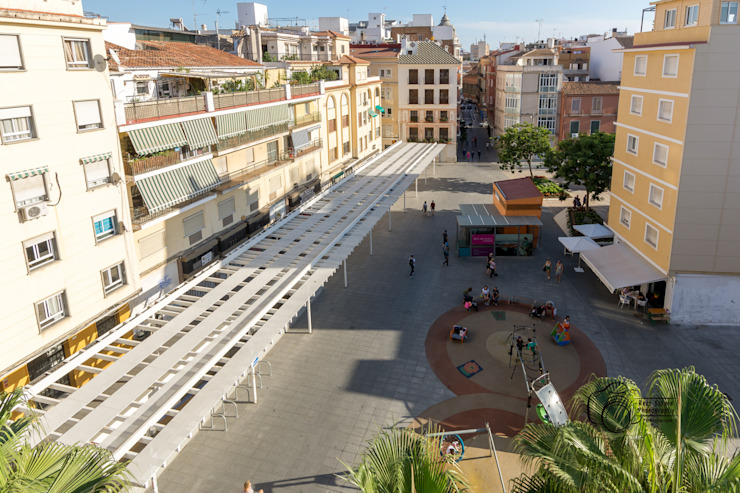 Balcon, Veranda & Terrasse méditerranéens par Per Hansen Méditerranéen Tuiles