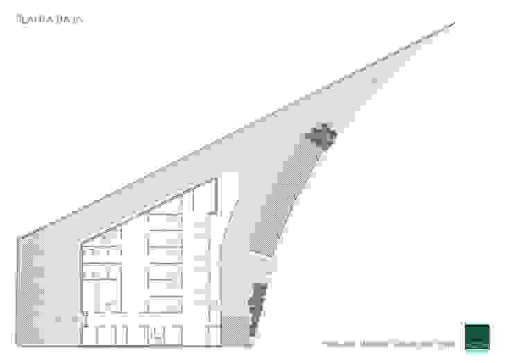 HOSPITAL VETERINARIO - PLANTA BAJA Estudios y despachos de estilo moderno de Agoin Moderno