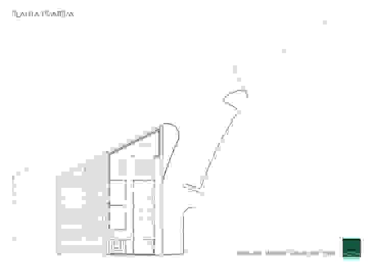 HOSPITAL VETERINARIO - PLANTA PRIMERA Estudios y despachos de estilo moderno de Agoin Moderno