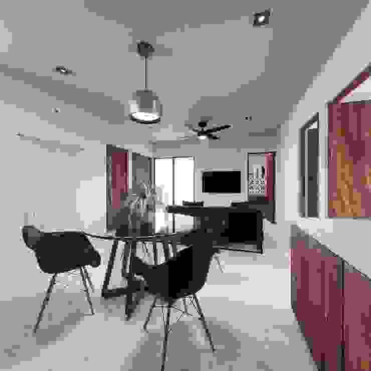 Living 1 Taller Veinte Salones tropicales