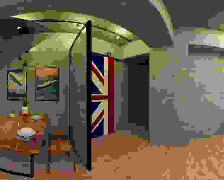 美式雅痞工業風3D圖 根據 御品室內設計裝潢