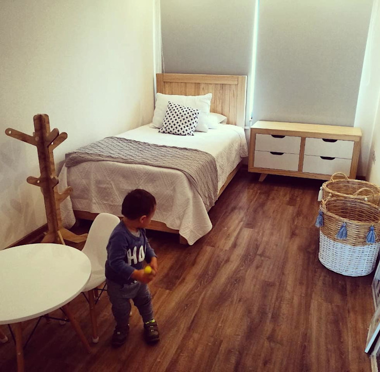 Taller Carpintería Massive Boys Bedroom Solid Wood Wood effect