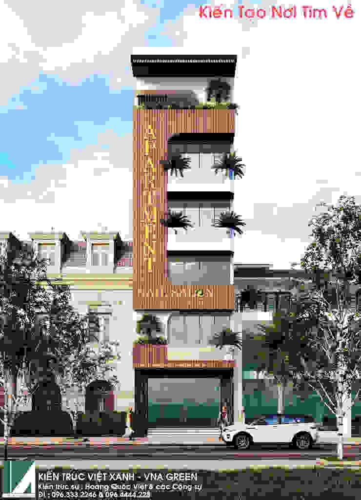 NHÀ PHỐ KINH DOANH 6 TẦNG + 01 TUM bởi Kiến trúc Việt Xanh
