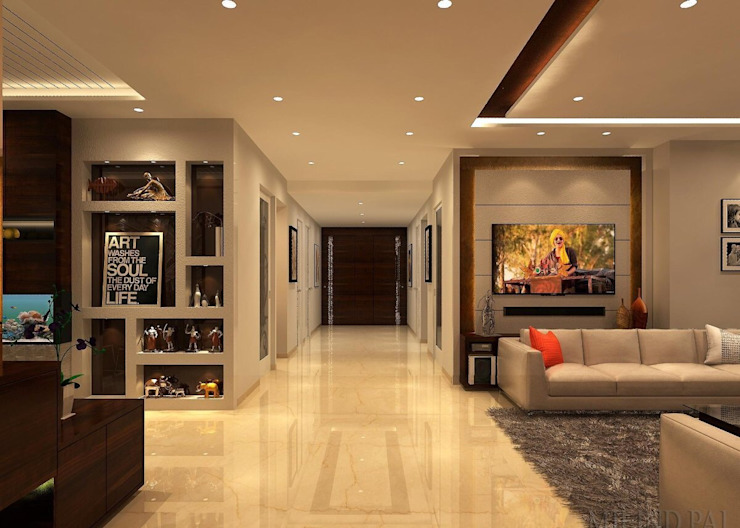 Residence 500sqmt Modern living room by Inception Design Cell Modern