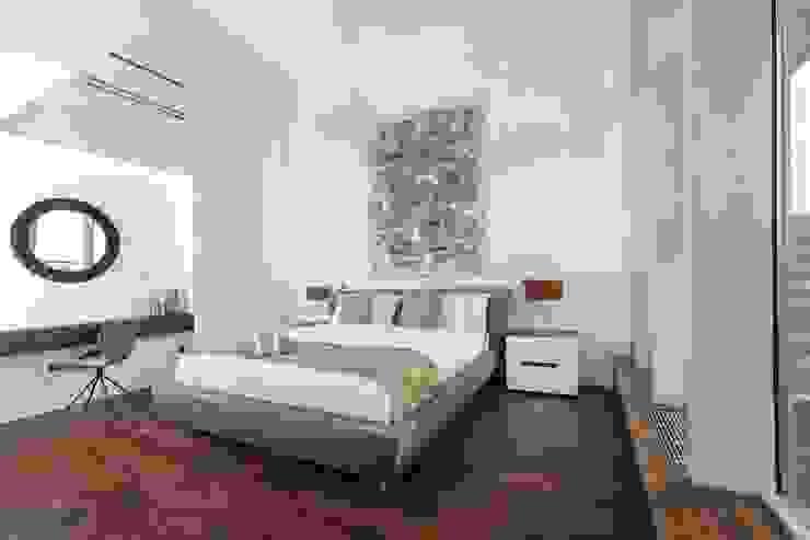 master bedroom Minimalistische slaapkamers van EVdesign Minimalistisch