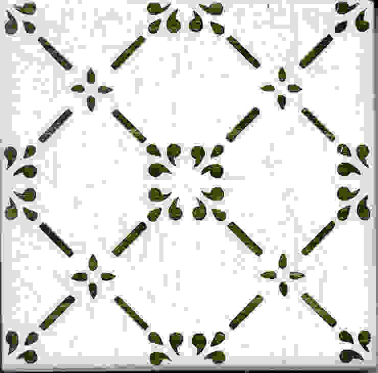 Olbia Mod.VT Black Green 2407-I di Consorzio Ceramiche DESUIR Moderno Ceramiche