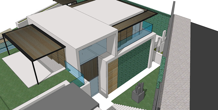 Proposed new house by Holloway and Davel architects