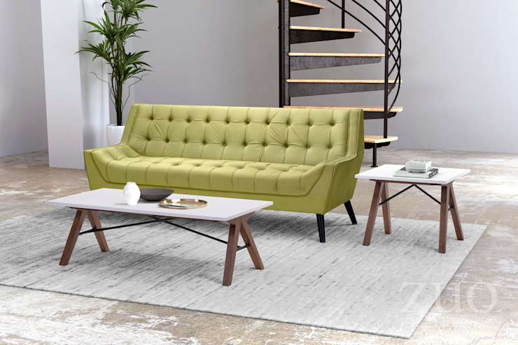 Living room Co-Living space Vivible Living roomSofas & armchairs Wood Green