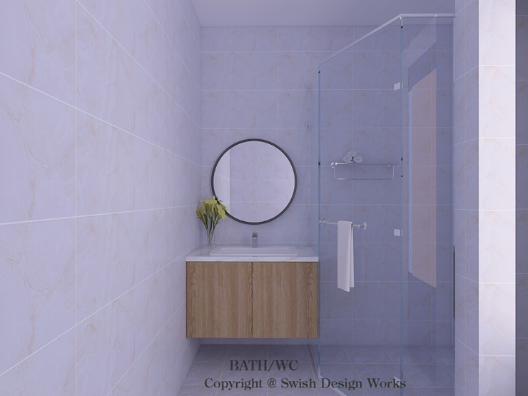 Bathroom Vanity Cabinet Scandinavian style bathroom by Swish Design Works Scandinavian