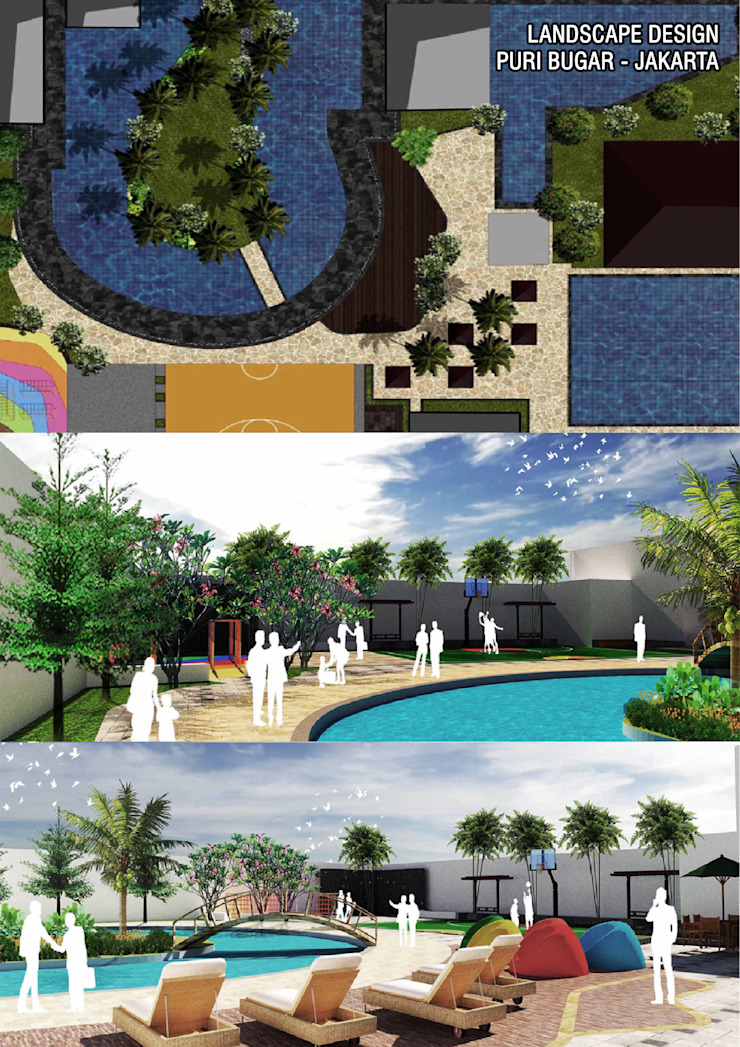 Swimming Pool Design Oleh Marl Design Studio