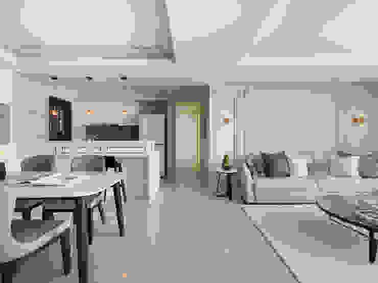 客廳 根據 存果空間設計有限公司 殖民地風