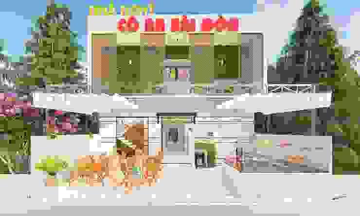 Modern Houses by Công Ty TNHH TK XD Ý Tưởng Hộp Modern