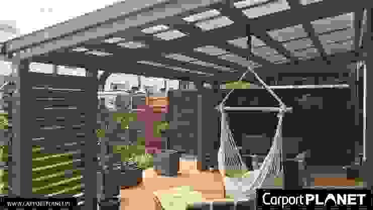 Carport Planet GartenLauben und Gewächshäuser Holz