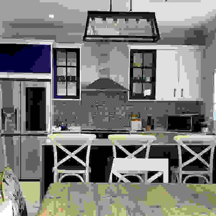 Kitchen remodeling CS DESIGN Built-in kitchens MDF Blue