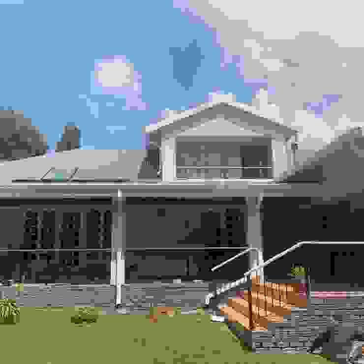 Repaint exterior CS DESIGN Modern houses Grey