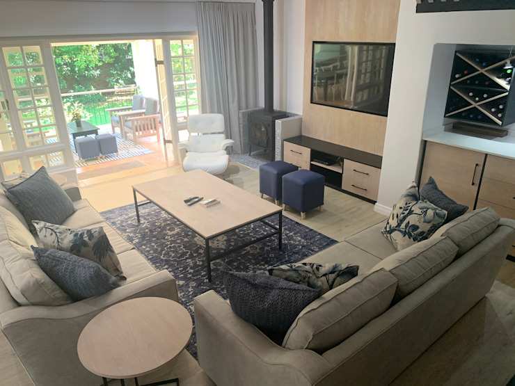 Living room CS DESIGN Modern living room