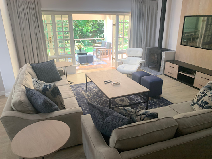 Moderne Wohnzimmer von CS DESIGN Modern
