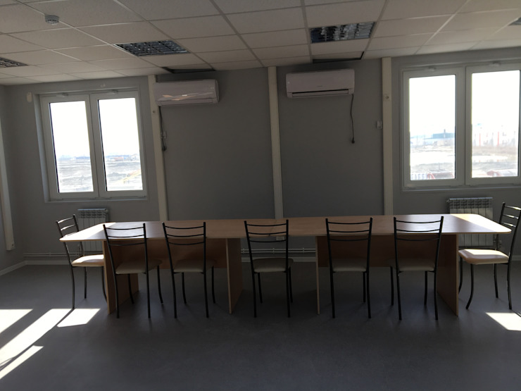 PRAMO PREFABRİCATED & STEEL Office buildings Aluminium/Zinc White