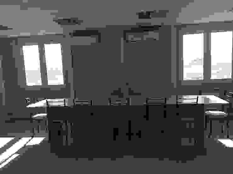 PRAMO PREFABRİCATED & STEEL Office buildings OSB Grey