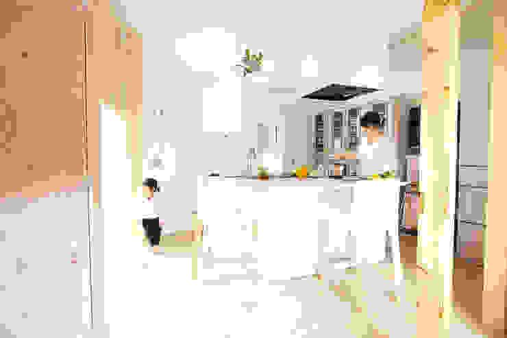 東室蘭の町家 オリジナルデザインの キッチン の KAWANOJI オリジナル