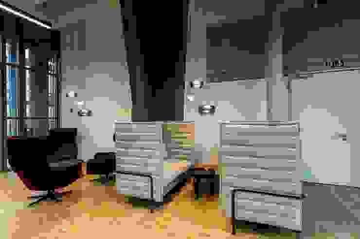 Lounge Industriale Bürogebäude von stanke interiordesign Industrial