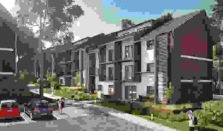 Rivcroft Modern houses by Urban Habitat Architects Modern