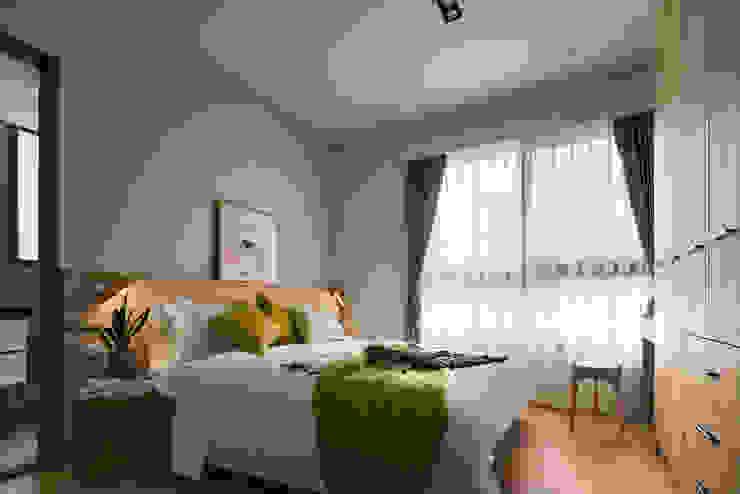 Scandinavian style bedroom by 築室室內設計 Scandinavian