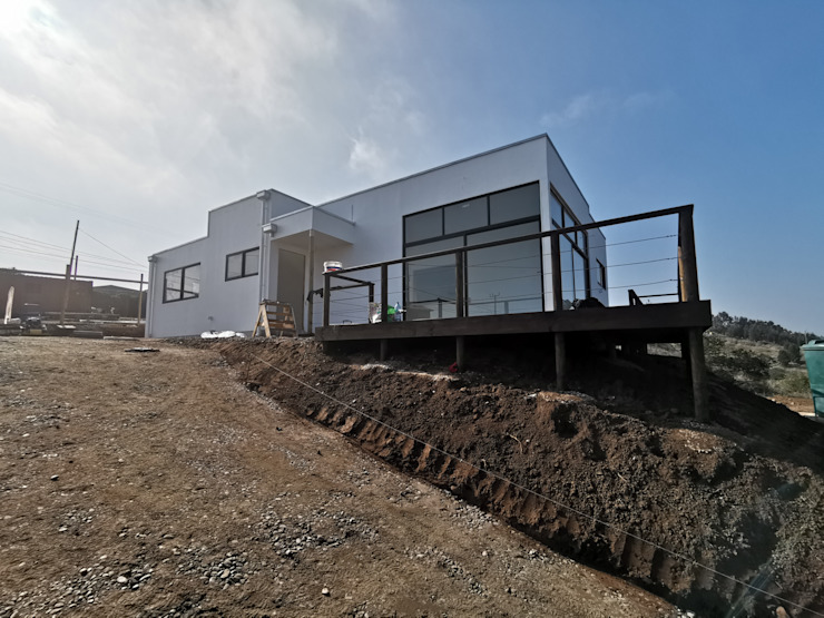 Casa Punta Piedra Ritoque Casas estilo moderno: ideas, arquitectura e imágenes de MS Arquitectos Moderno