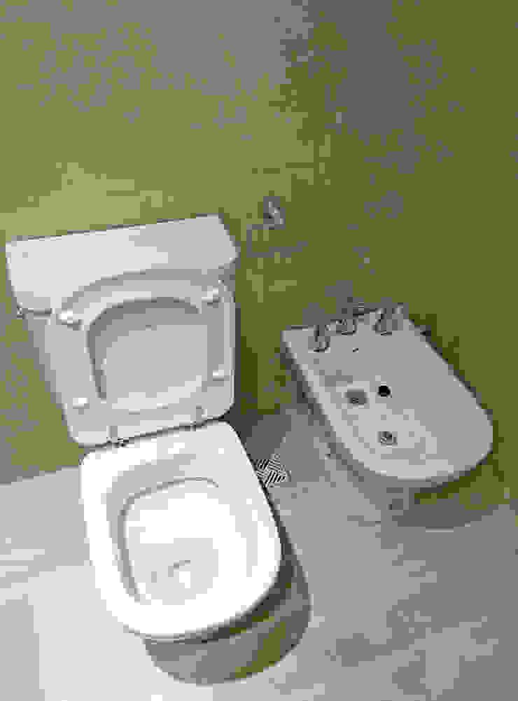 REZ Arquitectura | Diseño | Construcción Ванна кімната Керамічні Бежевий