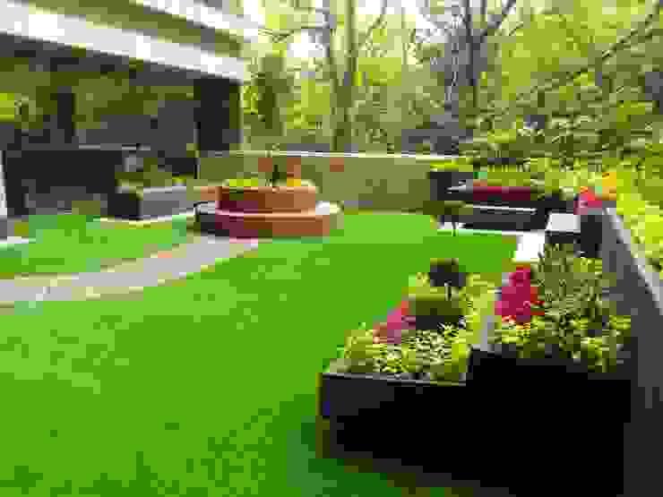 Terraza terminada Balcones y terrazas minimalistas de 11 creativos Minimalista