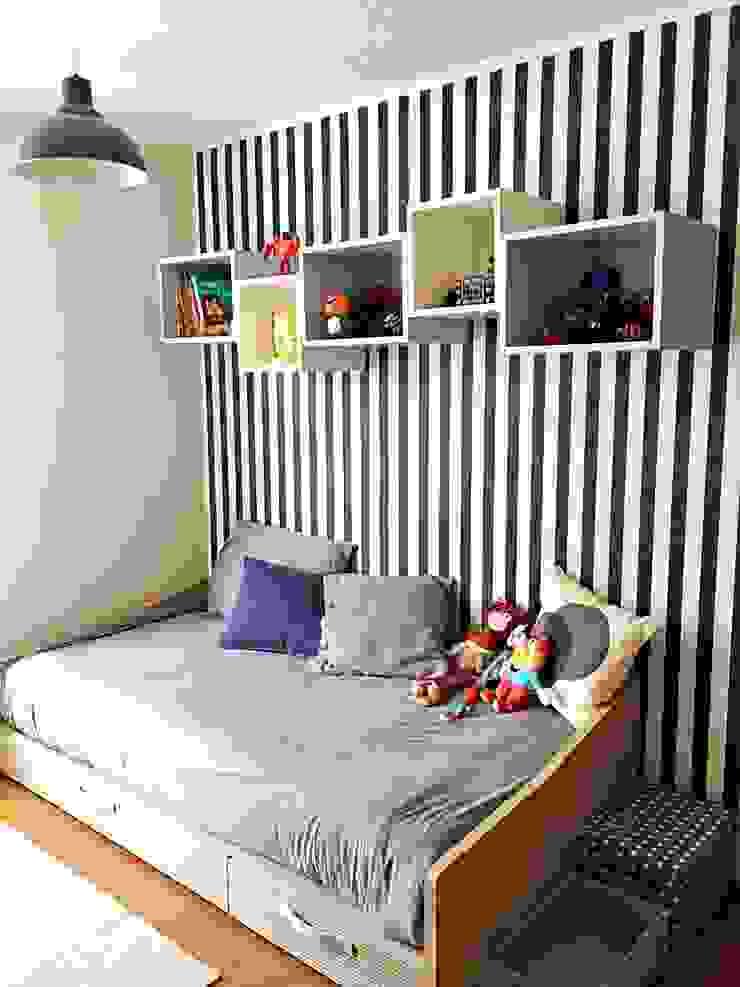 Dormitorio Infantil de Estudio Arquitectura y construccion PR/ Arquitectura, Construccion y Diseño de interiores / Santiago, Rancagua y Viña del mar Moderno