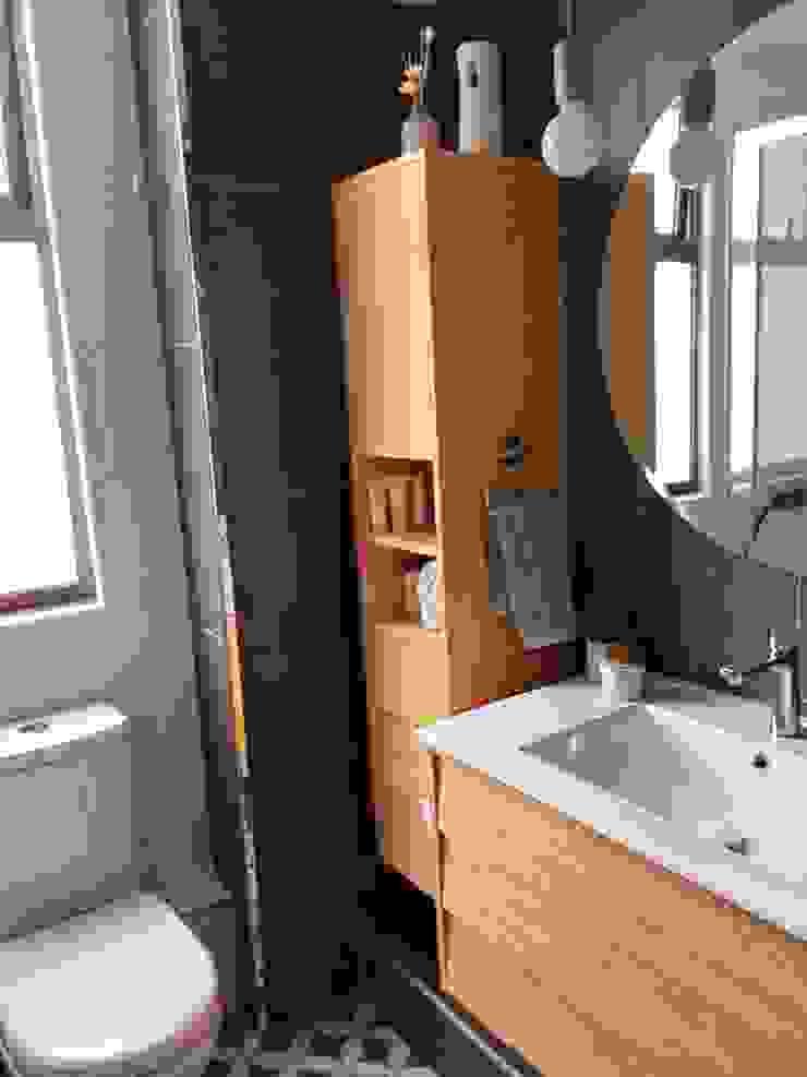 Después Baño principal de Estudio Arquitectura y construccion PR/ Arquitectura, Construccion y Diseño de interiores / Santiago, Rancagua y Viña del mar Moderno