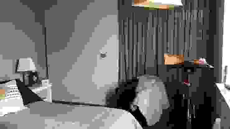 Antes dormitorio principal de Estudio Arquitectura y construccion PR/ Arquitectura, Construccion y Diseño de interiores / Santiago, Rancagua y Viña del mar Moderno