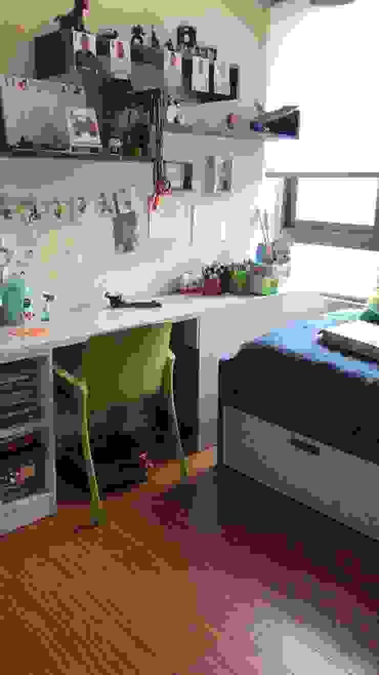 Antes dormitorio infantil de Estudio Arquitectura y construccion PR/ Arquitectura, Construccion y Diseño de interiores / Santiago, Rancagua y Viña del mar Moderno