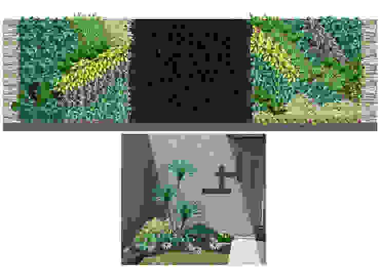 Vertical garden Oleh Elok Taman 88