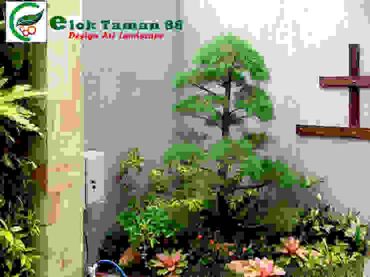 Taman minimalis Oleh Elok Taman 88