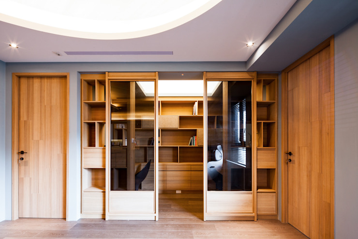 書房 根據 居間設計 殖民地風