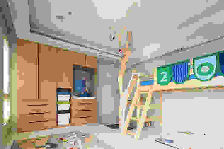 小孩房 根據 居間設計 殖民地風