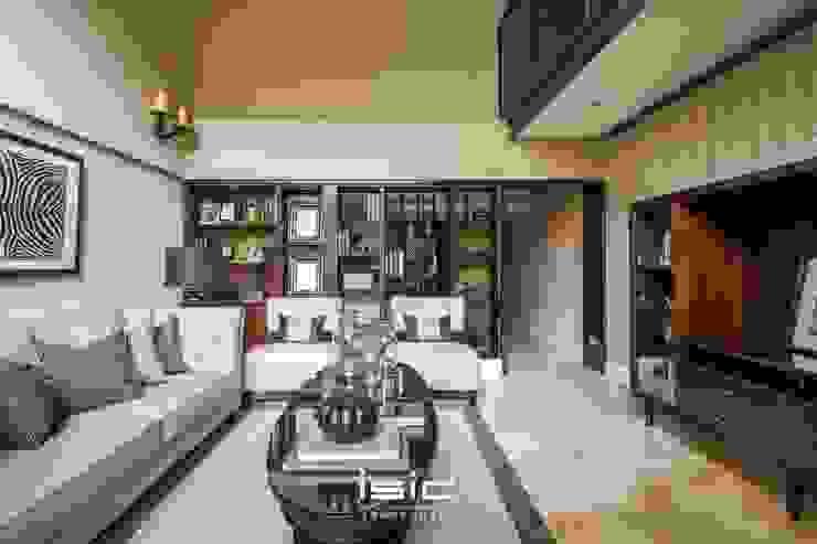 客廳 现代客厅設計點子、靈感 & 圖片 根據 居間設計 現代風