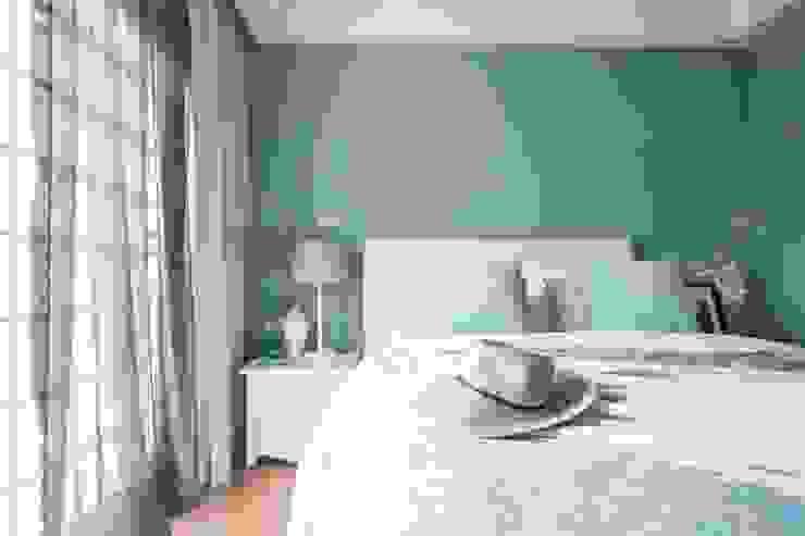臥室 根據 居間設計 北歐風