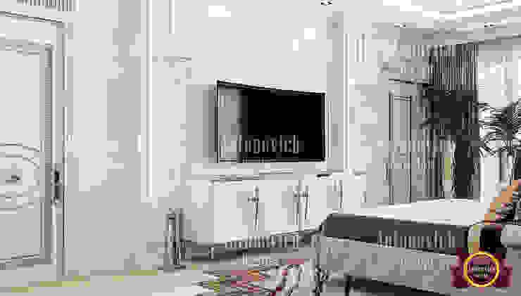 Stylish Bedroom Design Bahrain by Luxury Antonovich Design
