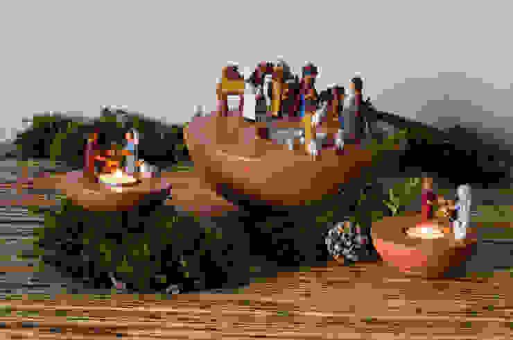 Presépios - Taças Luminárias - Coleção de Natal Crivart Salas de estar modernas por CRIVART Moderno