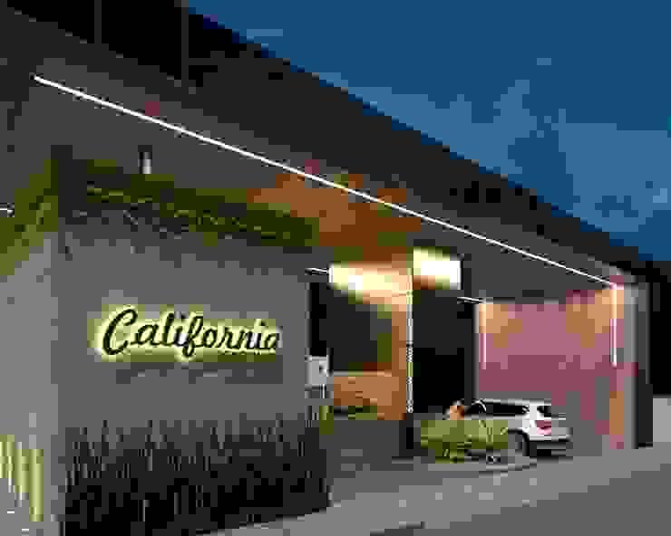 Guarita Condomínio Califórnia por Marcelo Sena Arquitetura Moderno