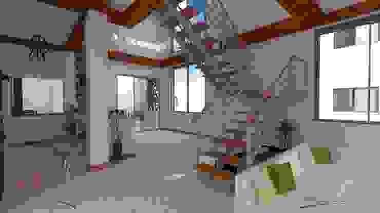 de PyH Diseño y Construcción Moderno Madera Acabado en madera