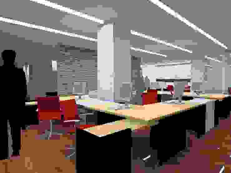 Studio Luxes Modern Çalışma Odası