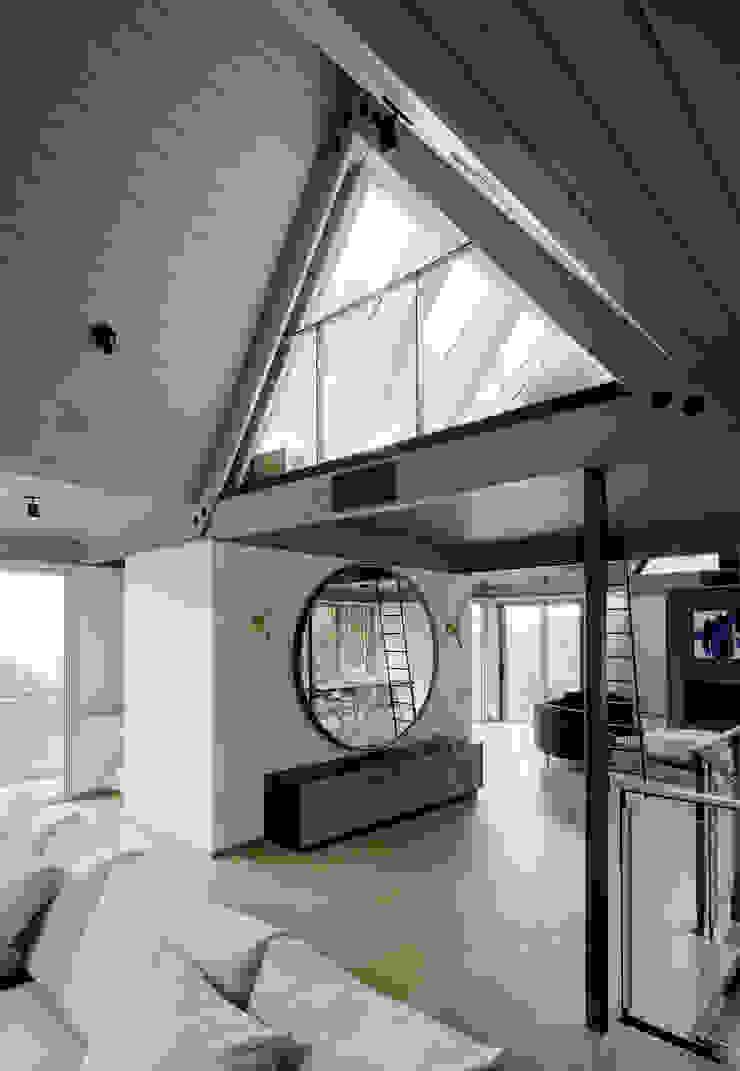 Twin Peaks Modern living room by Feldman Architecture Modern