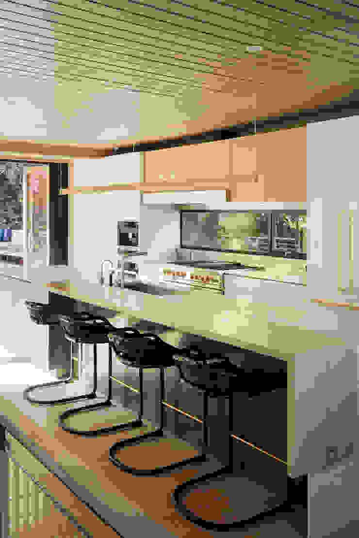 Twin Peaks Modern kitchen by Feldman Architecture Modern